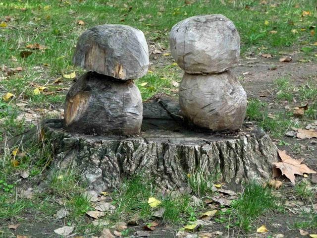 Sculpture sur bois.
