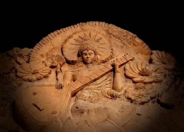 Sculptures de sable