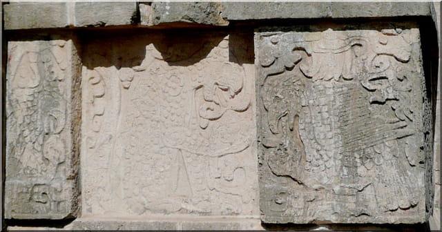 Sculptures mayas