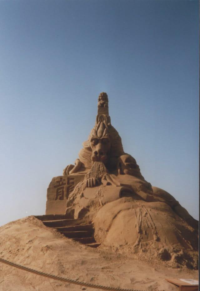 Sculture de sable 4