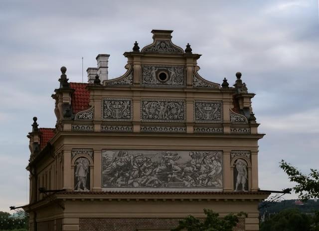 Sgrafitte au musée Smetana