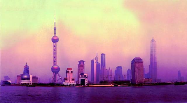 Shanghai, splendeur de l'asie.