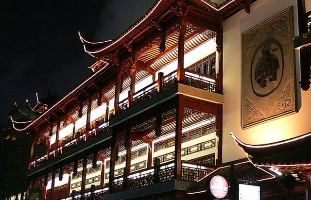 Shanghai-vieux quartier 1