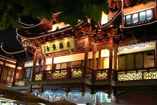 Shanghai-vieux quartier 4
