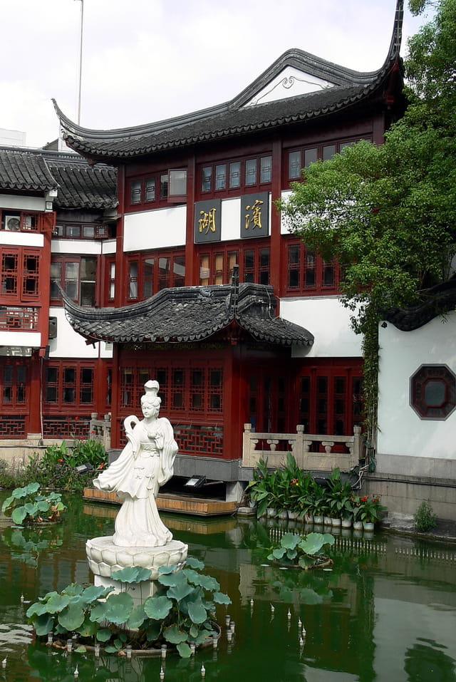 Shanghai-vieux quartier 5
