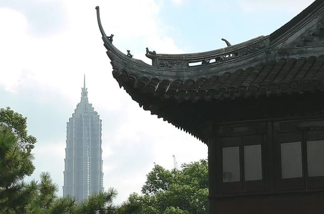 Shanghai-vieux quartier 6
