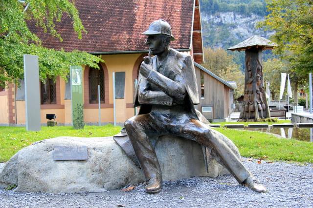 Sherlock Holmes à Meiringen (Suisse)
