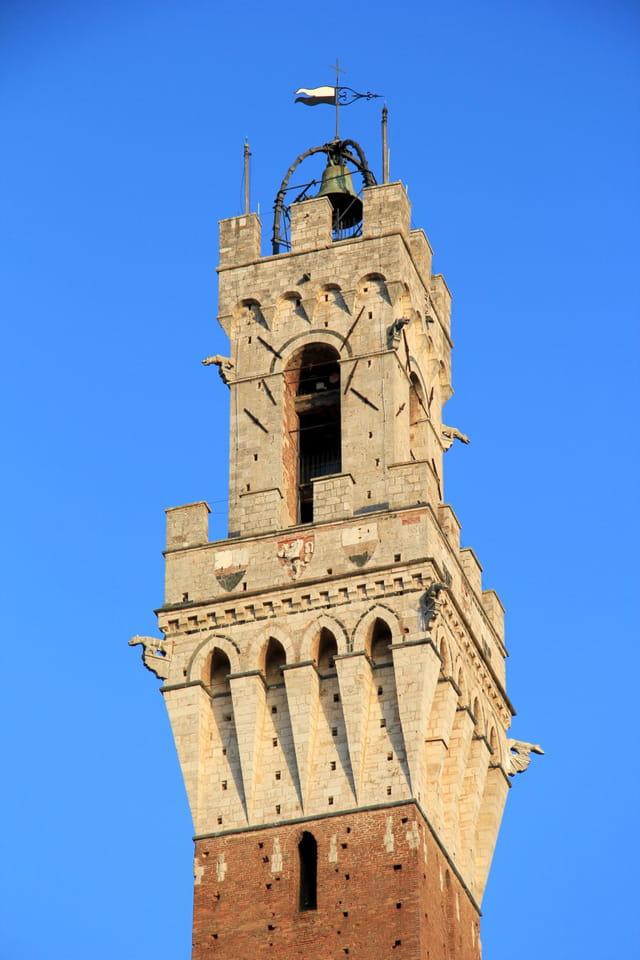 Sienne - Tour du Palazzo Publico
