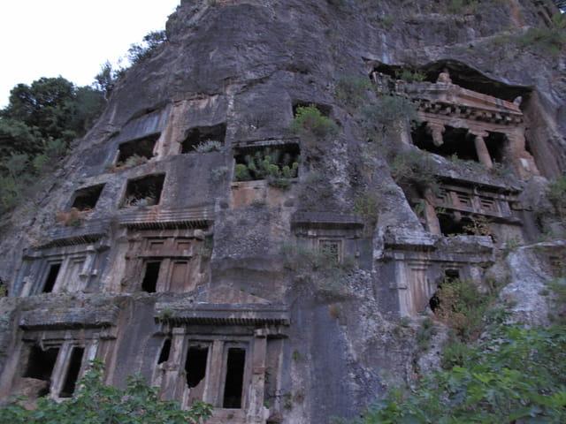 Monument antique Tlos