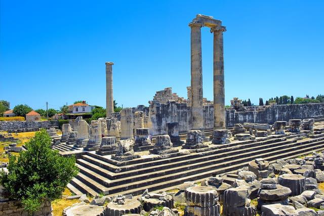 Site de Didymes, temple d'Apollon.
