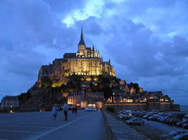 Soir au Mont Saint-Michel