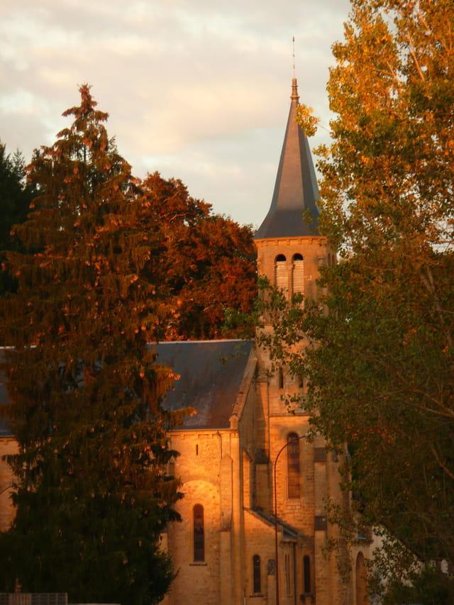 Soir d'automne à Lugny