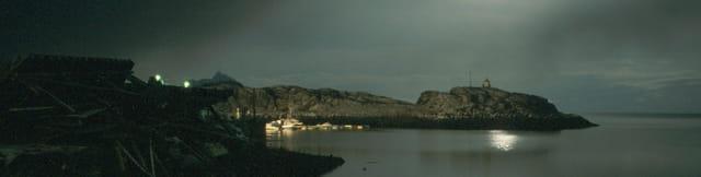 Soir d\'hiver dans l\'archipel Lofoten