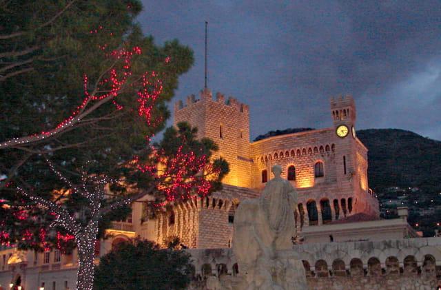 Soir de fête nationale sur le palais
