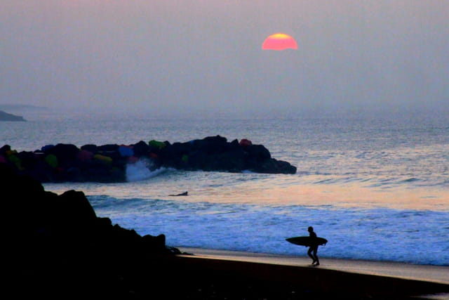Soir de surf