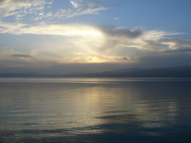 Soirée au bord du lac de Galilée