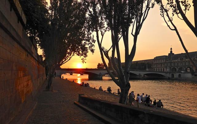 Soirée sur Seine