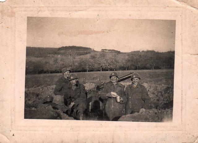 Soldats français en Allemagne 1945
