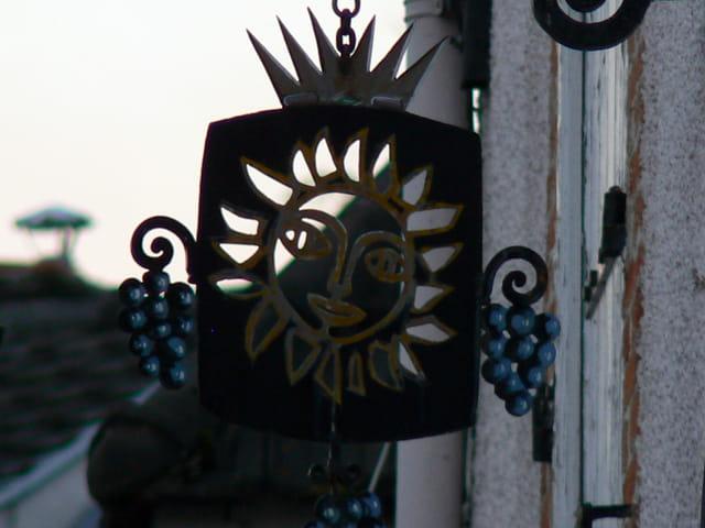 Soleil champenois