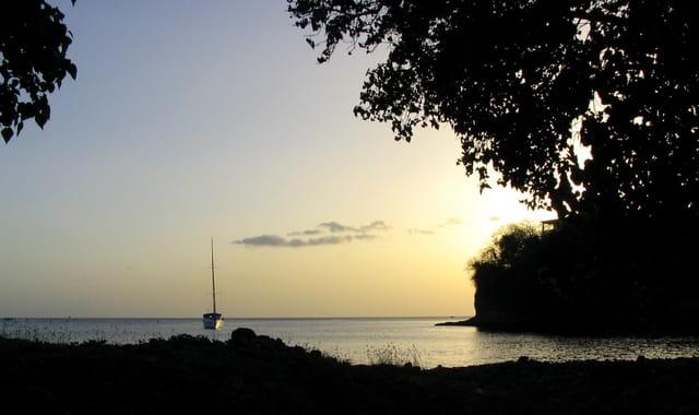 Soleil couchant des Caraïbes