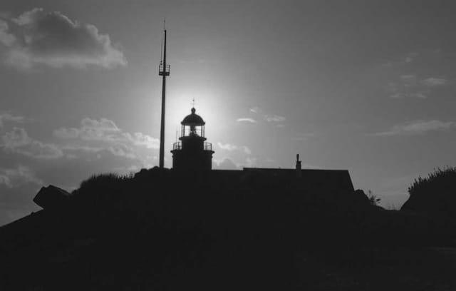 Soleil dans le phare