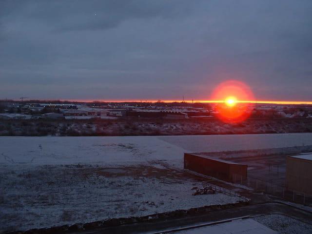 Soleil levant d'hiver