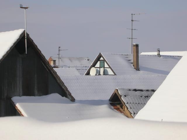 Soleil sur les toits