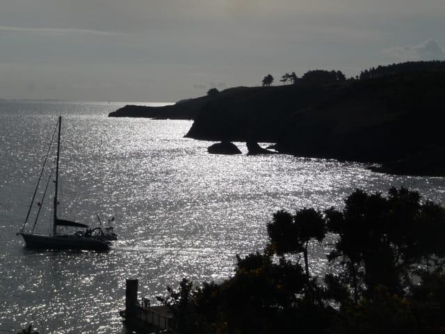 Sortie en mer de bon matin