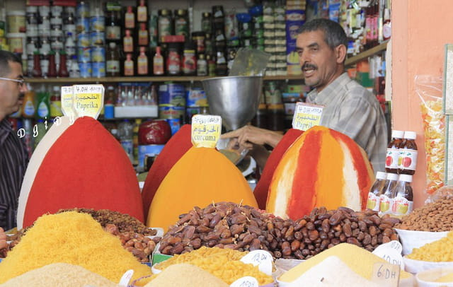 Souk à Agadir