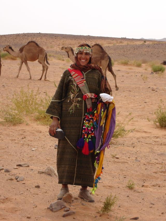 Sourire du désert