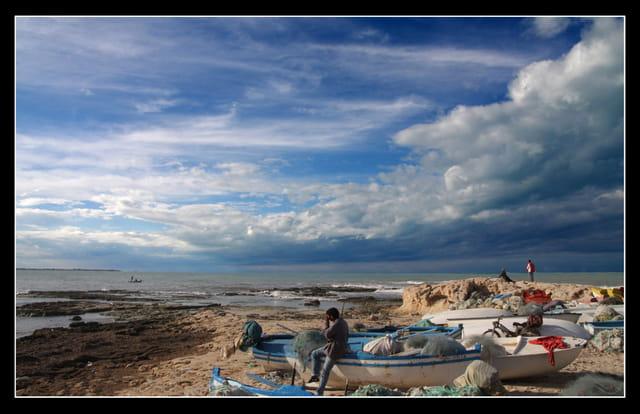 Sous le ciel Tunisien.
