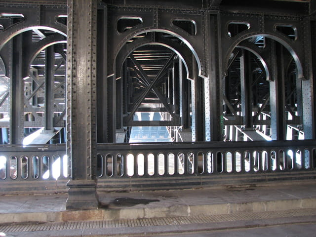 Sous le pont alexandre III