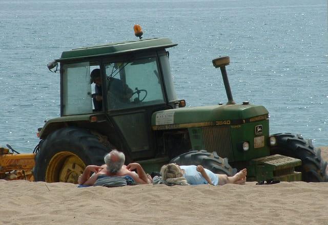 Sous le sable les pavés ?