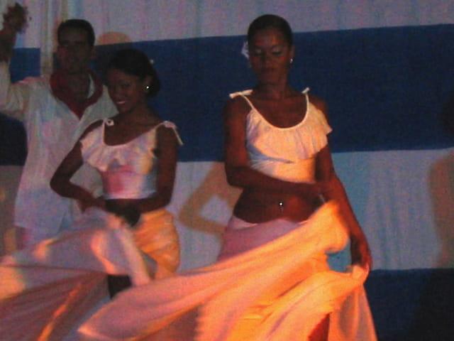 Spectacle de danse à Cuba