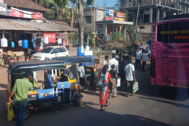 spectacle de la rue à Mangalore