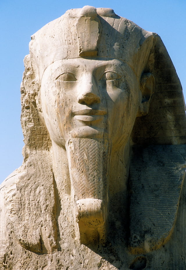 Sphinx d'albâtre de la XVIIIè dynastie
