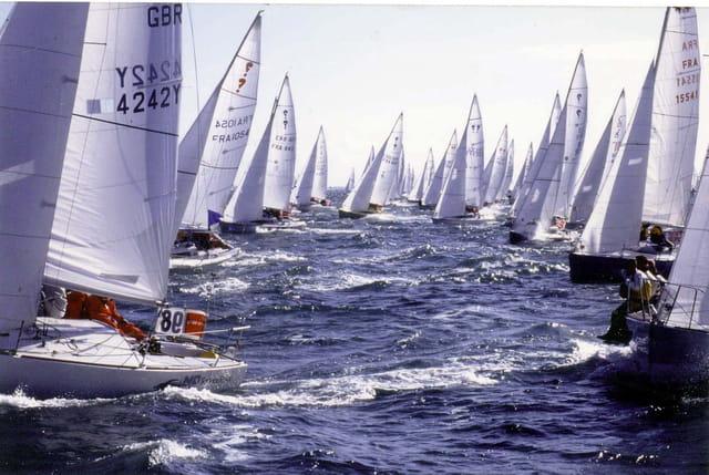 Spi départ 500 bateaux