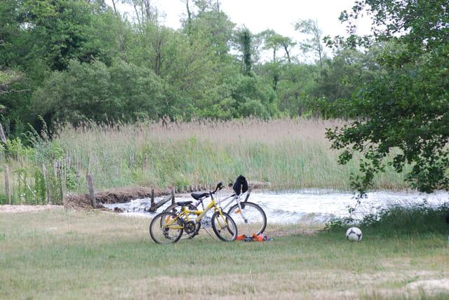 sport au lac en juin
