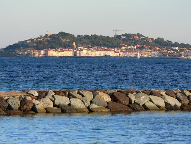St Tropez, depuis Ste Maxime