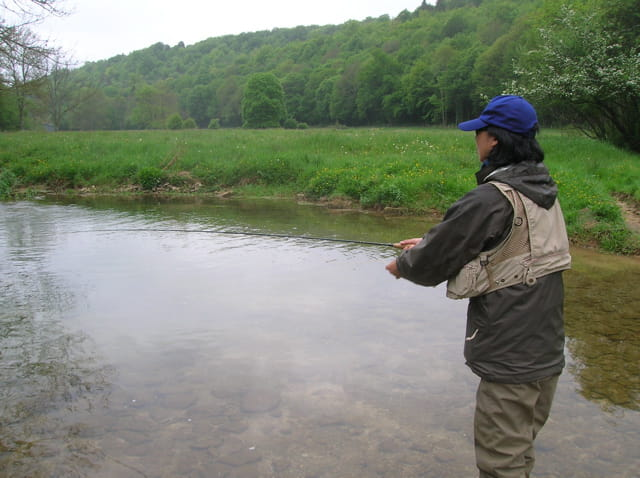 Stage pêche à la mouche au féminin