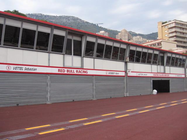 Stands du Grand Prix de Monaco