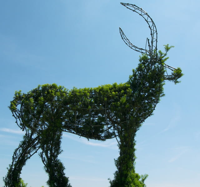 Statue antilope