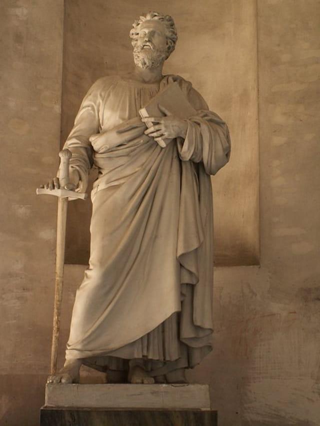 Statue cathédrale de Troyes
