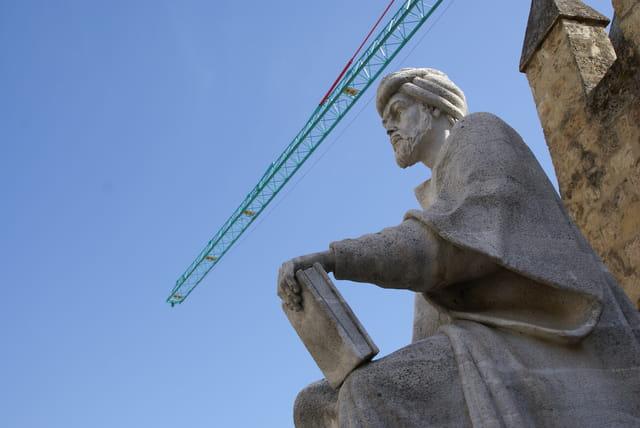 Statue d'Ibn Rochd (Averroès) à Cordoue