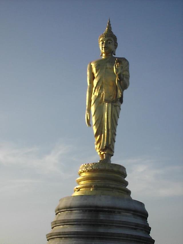 Statue de bronze