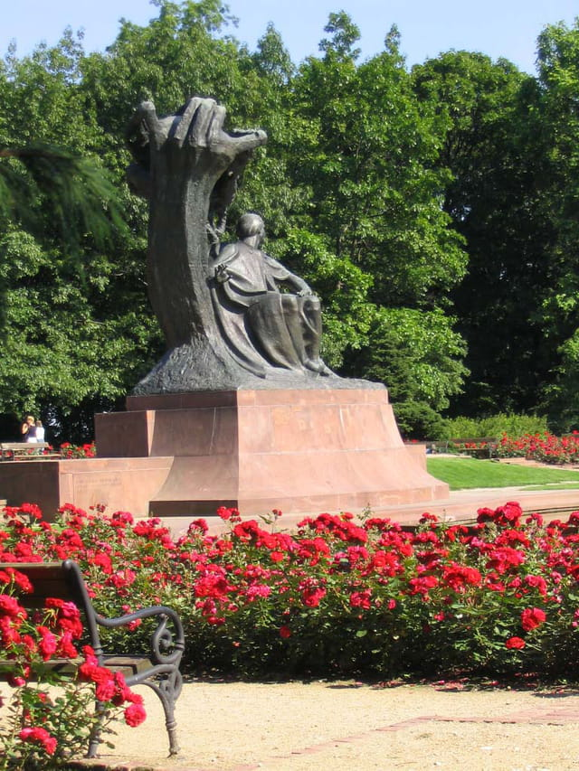 Statue de chopin