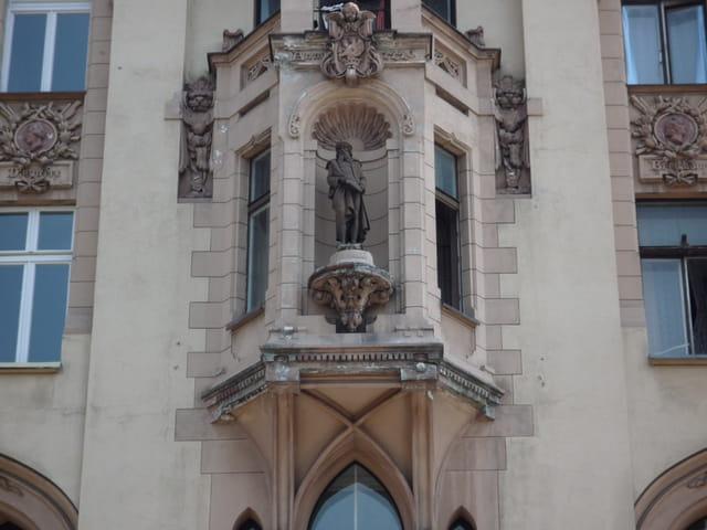 Statue de J.Gutenberg