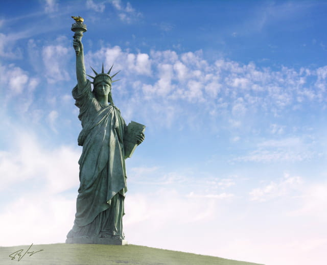 Statue de la Liberté de Colmar