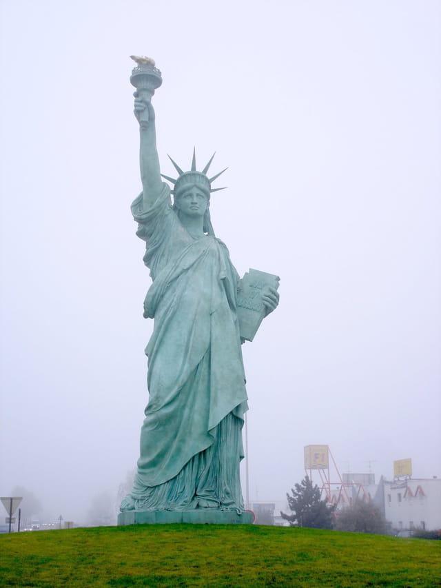 Statue de la liberté à colmar