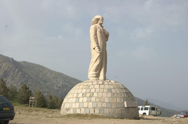 Statue du col du Vergio